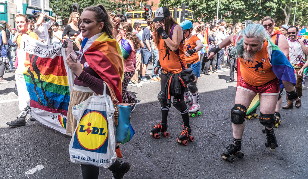 LGBTQ+ PRIDE PARADE 2017 [ON THE WAY FROM STEPHENS GREEN TO SMITHFIELD]-130154