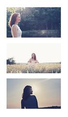 Melayne (S.Frag) Tags: portrait canon5dmkiii canonphoto canonofficial 50mm 50mmf12 5dmkiii sun shadow silhouette girl woman redhead