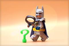 Clue? (Frost Bricks) Tags: lego batman riddler clue piece
