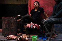 the butcher.  Jaipur. Rajasthan. India. (Tito Dalmau) Tags: street portrait butcher jaipur rajasthan india