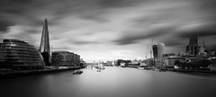 THE RIVER (jason Buckley.) Tags: blackandwhite bw london long exposure thames tower architecture abstract art city clouds canon photography photo streetphotography street sky shadows sunset sun evening lens lightroom light lee filters shard sea reflection love lights water walkie talkie river urban building black white bridge