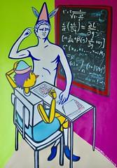 Contemplation Thorema (MATLAKAS) Tags: matlakas painting contemporaryart saatchi euation artnow hockney nyart nyc