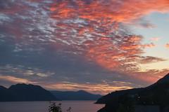 Kveldshimmel - - Evening sky red (erlingsi) Tags: evening sunset sky himmel red solnedgang sunsetting solarglad volda sunnmøre visitnorway