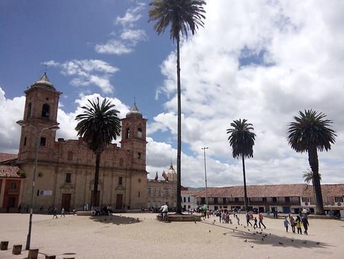 Zipaquira, Town Square