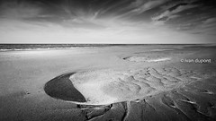 Let's start Summertime at the Belgian seaside (monsieur I) Tags: sea landscape seascape belgium black white blackandwhite nature monsieuri summer summertime sand beach nobody sky clouds belgian belgianseaside discover flanders photography seaside water world