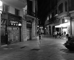 """Citynightlife"" Barcelona  (Spain) (giannipaoloziliani) Tags: walking città city centrostorico architecture citynightlife centro centre historiccenter downtown graffitiart graffiti walls capturemoment capture angle spain spagna persone people nightlife night notte dark blackandwhite biancoenero iphonephotography iphonephoto streetphoto streetphotography streetcapture urbanlife urbannight urbanblackandwhite urbanstreet urban street barcelona barcellona flickr"