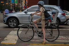 Hey You. (Jovan Jimenez) Tags: child bike mom riding street woman seat kid glasses sony 50mm eseres e series pancake nikon ilce 6500 a6500 tilt shift tiltshift manual focus bokeh people girl alpha seriese f18 cinematic vintage optical mirrorless dof