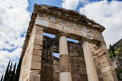Greece (603).jpg (goodnightstrawberry) Tags: delphi greece greek ancient temple ruins oracle columns
