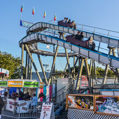 shutter bug (pbo31) Tags: 2017 alamedacountyfair midway ride carnival fair eastbay alamedacounty color june summer boury pbo31 pleasanton california butleramuesments nikon d810 blue log whitewater flume panoramic large stitched panorama