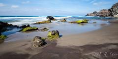 Playa del Barronal (M.Rubén Sáez) Tags: playa mar arena paisaje roca olas mediterraneo cabo de gata nubes viaje aventura verano agua canon