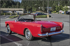Red Alpine (NoJuan) Tags: sunbeam alpine sunbeamalpine red redcar sportscar vintagesportscar redsportscar britishcar englishcar rootes olympusep5 olympus1250mmf3563 microfourthirds micro43