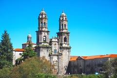 Monasterio cisterciense de Santa María de Sobrado. (lumog37) Tags: monasterios monastery torres towers arquitectura architecture church iglesia