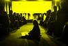 11-016-20170405_FUJ5557 (patrickbatard) Tags: politique présidentielle élection 2017 meeting peuple expression doute incrédule incrédulité ennui jaune noiretblanc