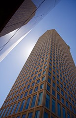Lofty Tower (Greg Vierra) Tags: skyscrapper backlit tall reflection sunlight lateafternoon architecture angles buildings sanfrancisco