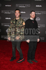 Pete Wentz and Andrew Hurley (Pete Wentz Daily) Tags: fallout boy vertical red carpet event action adventure scifi star wars space opera spin off battle spaceship people person arrival portrait photography arts culture entertainment celebrity celebrities hederlander theater los angeles california orientation face count 1 hollywoodcausa