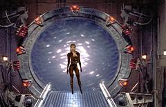 Stargate (SoakinJo) Tags: soakinjo soakin jo wet wetlook wetclothes wetclothing imvu highheels stilettos wetjeans stargate thighboots wetboots