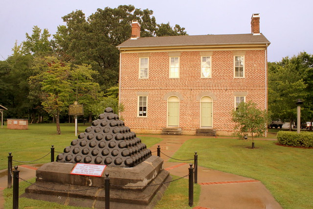 Bragg's Headquarters at Gordon Hall - LaFayette, GA