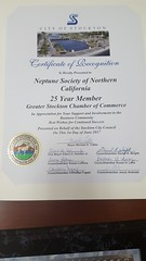 Neptune Society of Northern California, Stockton - Chamber of Commerce Award Luncheon