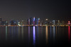 Doha! (aliffc3) Tags: doha qatar skyscrapers nightshot waterfront reflections nikond750 zeiss50mpf2