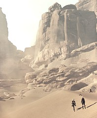 (ConnecteD\_) Tags: nierautomata platinumgames squareenix screenshot games desert wasteland sand mountain dune landscape outdoor