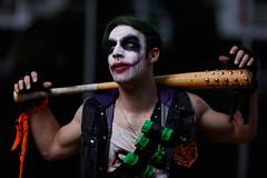 Comic-Con-2017_The Joker (Besisika) Tags: suicide squad montreal comic con 2017 joker anime cosplay manga outdoor flash overpower sun strobe godox ad600 portrait cosplayer dramatic lighting drama crime badguy criminal