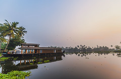 Fresh Morning (Well-Bred Kannan (WBK Photography)) Tags: alleppey wbkphotography kannan travel kerala backwaters boat sunrise
