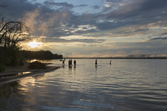 Canada Day in The Bay (Barbara A. White) Tags: canadaday constancebay ottawariver landscape sunset people riverscape 2017