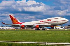 Air India Boeing B747-400 - Jumbojet - VT-EVA (AVIATIONlover) Tags: air india airindia indien force base hamburg boeing b744 744 b747400 747400 vteva airplane aircraft jet jumbo jumbojet plane