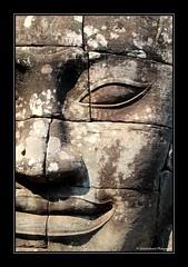 Sourire énigmatique- Enigmatic Smile- The Bayon- Angkor- Cambodge- Cambodia (Globetrotteur17... Ici, là-bas ou ailleurs...) Tags: bayon angkor sourire smile angkorthom inexplore cambodia cambodge
