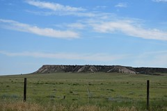Mesa on the Plains (Patricia Henschen) Tags: pawneepioneertrails scenicbyway grassland grasslands pawneenationalgrasslands usda forestservice weld county weldcounty backroads colorado easternplains clouds autotour route