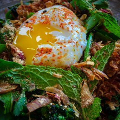 (LaTur) Tags: himitsu dcitystyle dcist salad egg food foodporn foodie