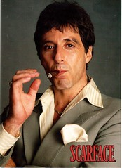 Postcrossing US-4691607 (booboo_babies) Tags: alpacino scarface gangster movie film 1983 1980s tonymontana postcrossing