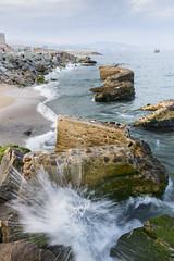 Splash (Marcos_GF) Tags: beach wave seascape rocks playa barcelona sant adrià del besòs catalunya canon landscape sigma