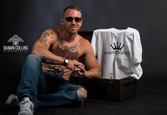 Model Ryan (Shawn Collins Photography) Tags: model muscle bodybuilder fitnessmodel malemodel shirtless hunks handsome tattoo beard scruff hairy abs chest