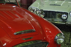 Austin Healey 3000 - Lancia Familia GT (John Morrissette) Tags: museum retro cars moscow russia gaz zil alfa panard citroen lancia matchless isetta sovie austin healey 3000 familia gt