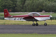 G-CBIX (QSY on-route) Tags: gcbix lincoln aero club mid summer fly in sturgate 04062017