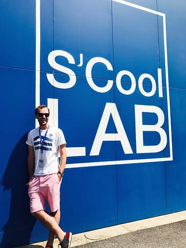Alex Brown. CERN S'Cool teacher + guide extraordinaire!
