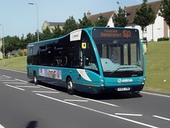 Solo Versa: Arriva Harlow Optare Versa KX62JVW (4230) Forest Hall Road Stansted Mountfitchet 19/06/17 (TheStanstedTrainspotter) Tags: arriva arrivakentthameside bus buses stansted stanstedmountfitchet public transport publictransport bishopsstortford harlow networkharlow optare versa optareversa kx62jvw 4230 510 stanstedairport foresthallroad