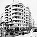 Jun 1941 - Hotel Morandi (Doss Building) cnr Soliman Pasha St & Fouad Avenue, central Cairo, Egypt - real photo post card - circa 1930s