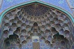 En una mezquita de Isfahan. (Victoria.....a secas.) Tags: irán isfahan mezquita mosque arquitectura