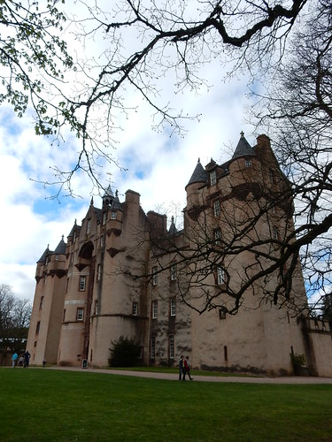 Fyvie Castle, Scottish baronial style