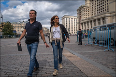 DR150802_0591D (dmitryzhkov) Tags: couple two wife husband family pretty prettywoman converse conversation sony alpha day daylight color colour colourful colours colorful colors colorworld colorstreet summer motion movement walk walker walkers pedestrian pedestrians sidewalk man men woman women lady art city europe russia moscow documentary journalism street streets urban candid life streetlife citylife outdoor outdoors streetscene close scene streetshot image streetphotography candidphotography streetphoto candidphotos streetphotos moment light shadow people citizen resident inhabitant person portrait streetportrait candidportrait unposed public face