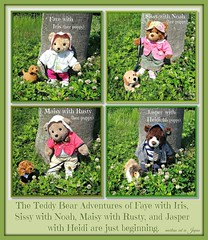 The Teddy Bear Adventures of Faye with Iris, Sissy with Noah, Maisy with Rusty, and Jasper with Heidi are just beginning. (martian cat) Tags: fdsflickrtoys ribbet macro teddybearsinjapan© ©martiancatinjapan ©teddybearsinjapan allrightsreserved© teddybearsinjapan teddybearsinjapan☺ ☺teddybearsinjapan ©allrightsreserved martiancatinjapan© teddybear teddybears collectibles hobbies ☺dogsandpuppiesinjapan ©dogsandpuppiesinjapan dogsandpuppiesinjapan© dogsandpuppiesinjapan ©puppydogsinjapan puppydogsinjapan© puppydogsinjapan ☺allrightsreserved allrightsreserved motivationalposter motivational caption captioncollection ☺martiancatinjapan martiancat martiancat© ©martiancat martiancatinjapan creativity