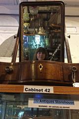 Dockyard Selfie Sunday (Jainbow) Tags: selfie sunday me mirror reflection jainbow antiques portsmouth dockyard