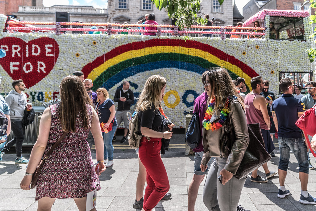 LGBTQ+ PRIDE PARADE 2017 [STEPHENS GREEN BEFORE THE ACTUAL PARADE]-129931