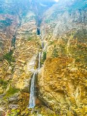 A waterfall outside Canon del Pato.