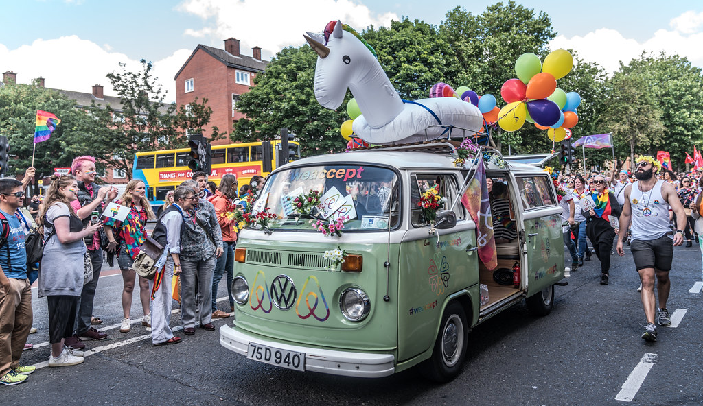 LGBTQ+ PRIDE PARADE 2017 [ON THE WAY FROM STEPHENS GREEN TO SMITHFIELD]-129991