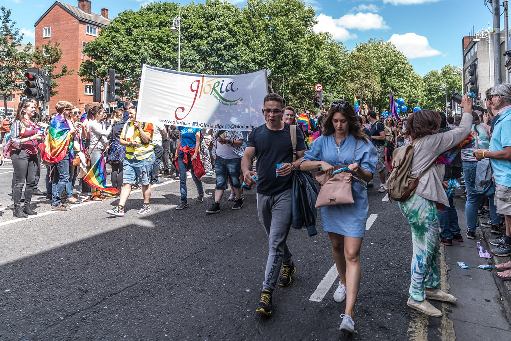 LGBTQ+ PRIDE PARADE 2017 [ON THE WAY FROM STEPHENS GREEN TO SMITHFIELD]-130096