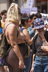 DUN_7864r (crobart) Tags: toronto pride dyke march pretty girls boobs tits breasts heavy hangers nude naked nipples