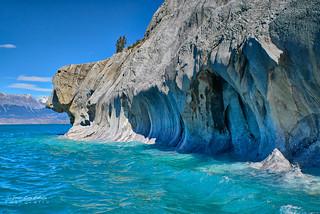 El Perro - Santuario Natural Cavernas de Marmol (Patagonia - Chile)